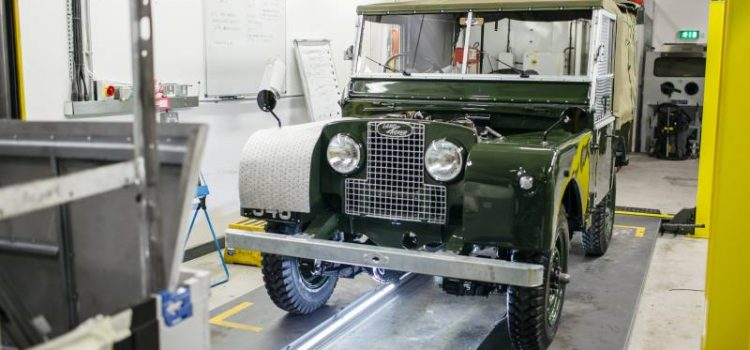 Land Rover classics become $130,000 collectables